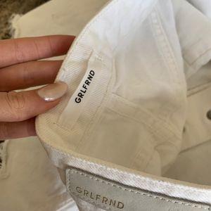 GRLFRND Shorts - GRLFRND Cindy High-Rise Patchwork Short